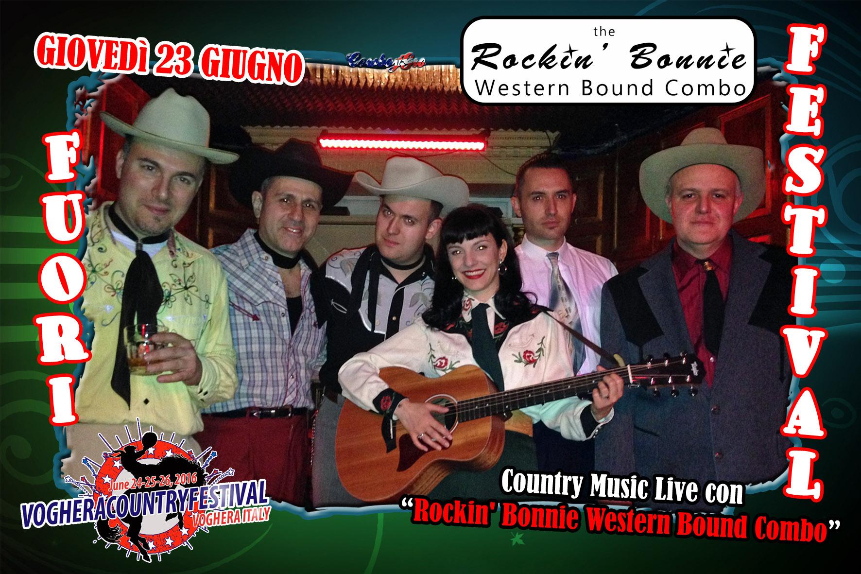 RockinBonnie WesternBoundComboPresentazione